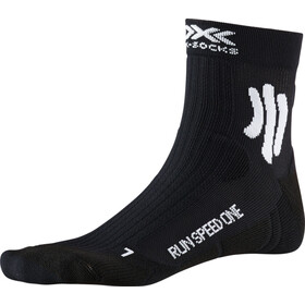 X-Socks Run Speed One Hardloopsokken Heren, opal black